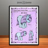 My Little Pony, Blue Belle, Colorized Patent Print, Kids Decor