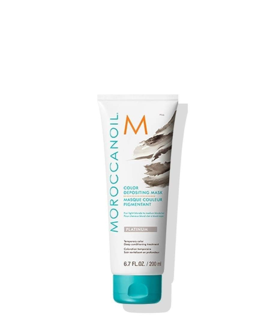 Moroccanoil Colour Depositing Mask - Platinum 200ml