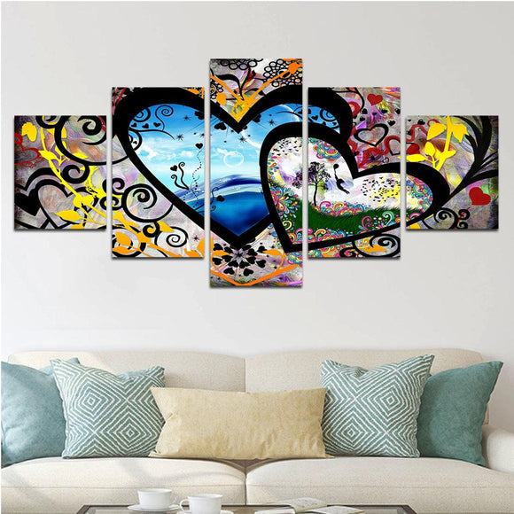 Lovers Canvas Set