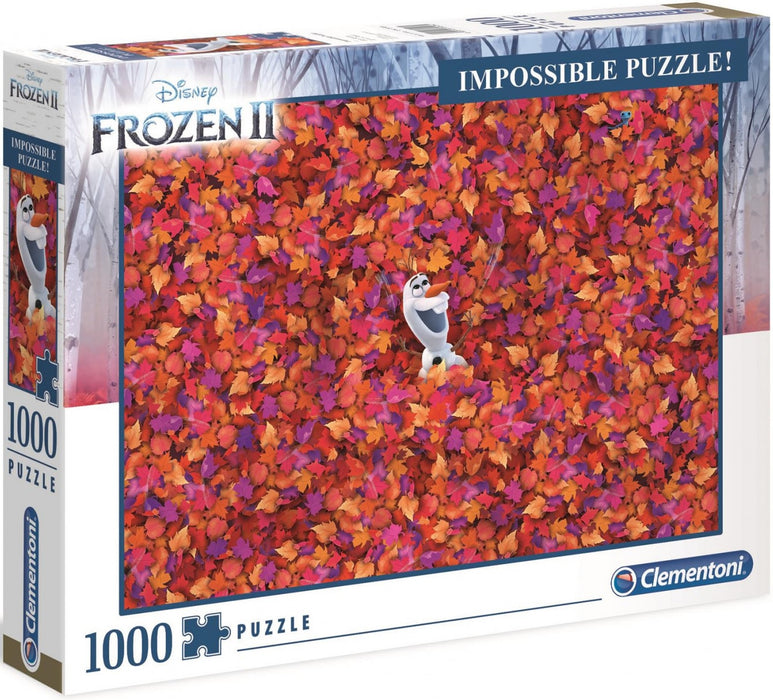 Clementoni Puzzle Disney Frozen 2 Impossible Puzzle 1,000 pieces Jigsaw Puzzl