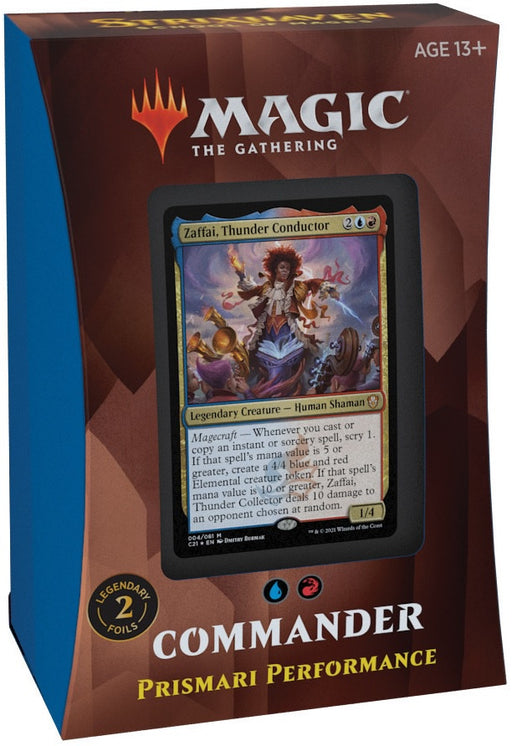 Magic the Gathering Strixhaven School of Mages Commander Deck  Prismari Performance