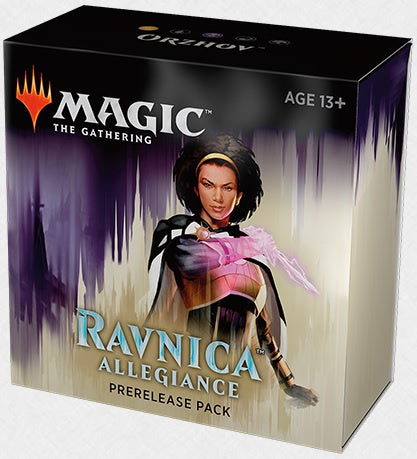 Magic the Gathering: Ravnica Allegiance Pre Release Pack - Orzhov