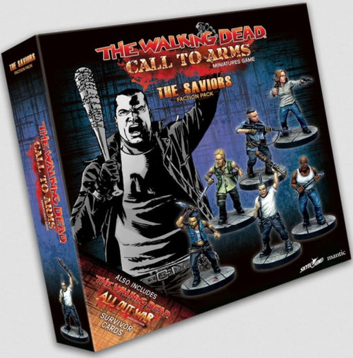 The Walking Dead: Call to Arms Saviors Faction Pack