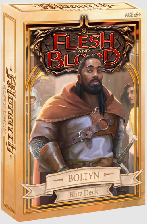 Flesh and Blood TCG Monarch Blitz Deck - Boltyn
