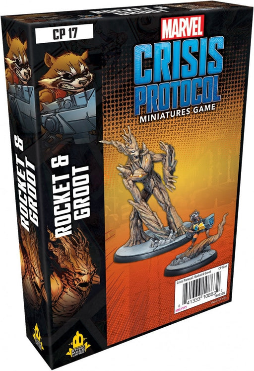 Marvel Crisis Protocol Rocket and Groot Character Pack