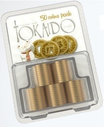 Tokaido Metal Coins Accessory Pack