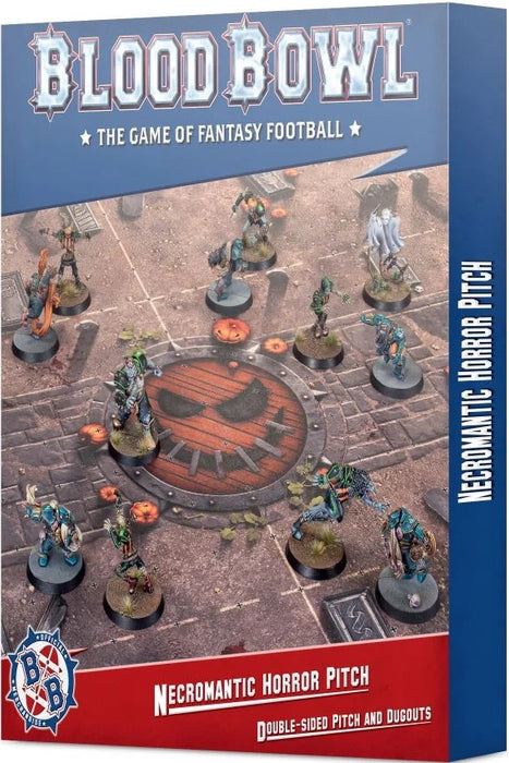 Blood Bowl Necromantic Horror Pitch Double-sided Pitch and Dugouts