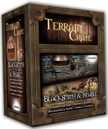 Terrain Crate Blacksmith & Stable (2020 Version)