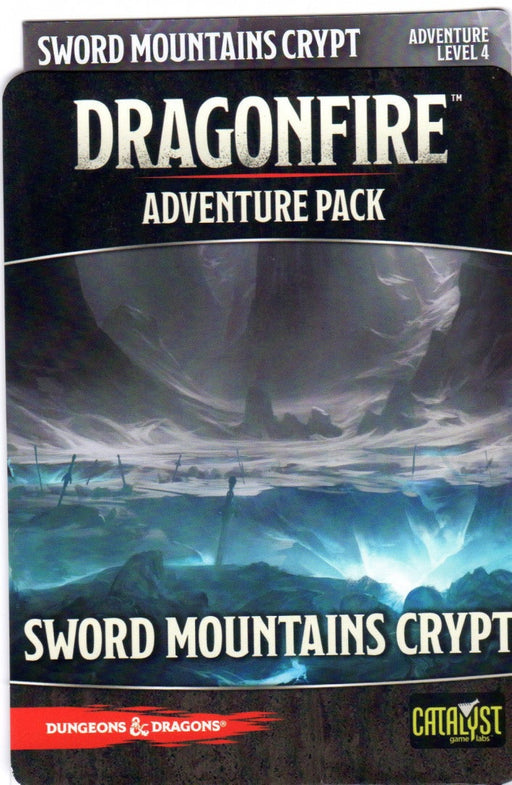 Dungeons & Dragons DragonFire Sword Mountains Crypt