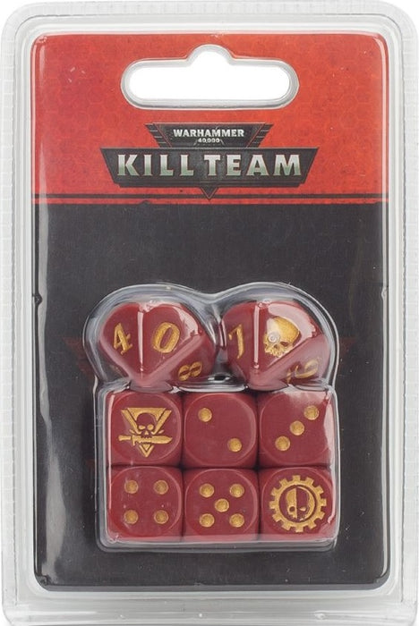 Warhammer 40,000: Kill Team Adeptus Mechanicus Dice