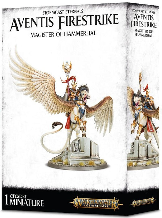 Stormcast Eteranals Aventis Firestrike: Magister of Hammerhal