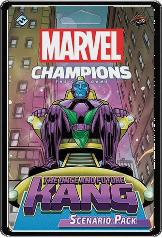 Marvel Champions LCG Once and Future Kang Expansion