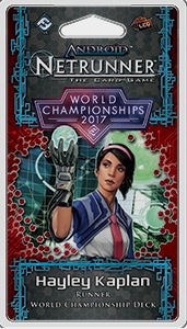 Android: 2017 World Champion Runner Deck Pre-Order