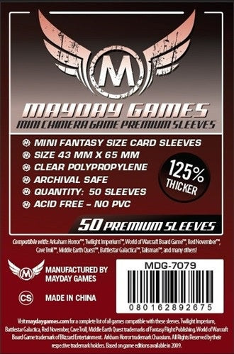 Mayday Games Mini Chimera Premium Card Sleeves (50)