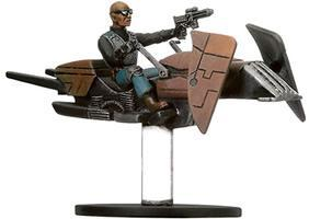 Star Wars Miniatures: 26 Dark Hellion Marauder on Swoop Bike