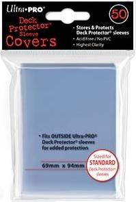 Ultra Pro Sleeve Covers Standard Deck Protectors (50)