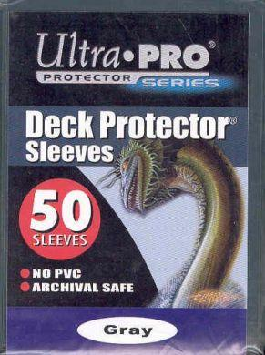 Ultra Pro Deck Protector Gray 50 Sleeves