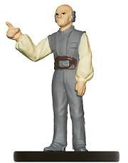 Star Wars Miniatures: 33 Lobot, Computer Liaison Officer