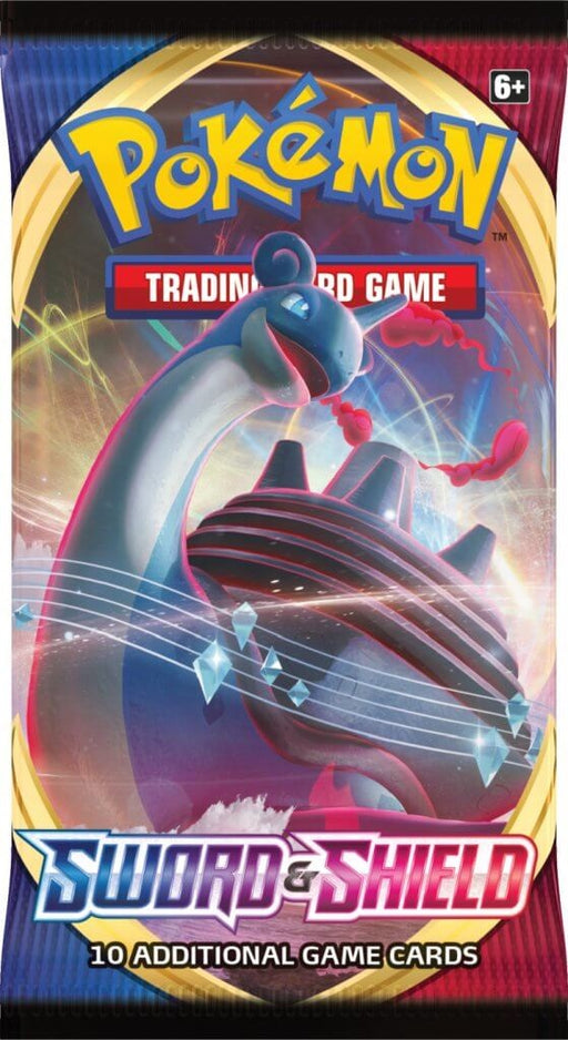 Pokemon TCG Sword and Shield Booster