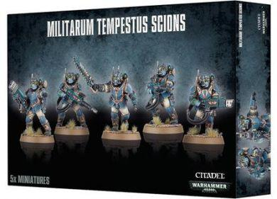 Warhammer 40K Imperial Guard: Tempestus Scions / Command Squad 47-15