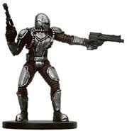 Star Wars Miniatures: 57 Mandalorian Commander