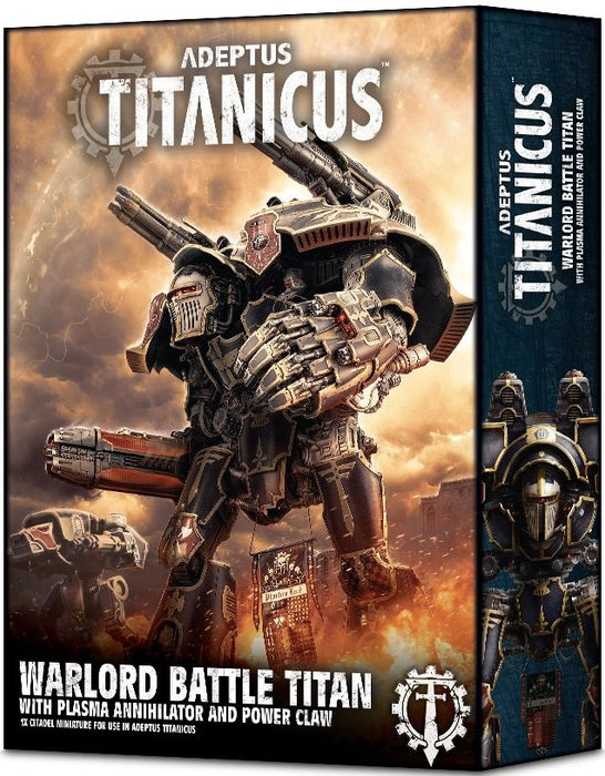 Adeptus Titanicus Warlord Battle Titan With Plasma Annihilator and Power Claw 400-22