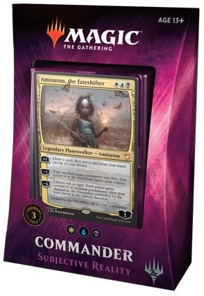 Magic the Gathering: Commander 2018 Subjective Reality
