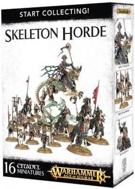 Warhammer: Start Collecting! Skeleton Horde 70-94
