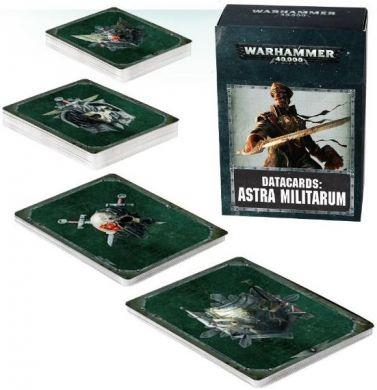 Warhammer 40K Imperial Guard: Datacards: Astra Militarum 2017 47-02