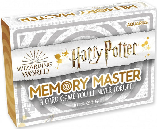Memory Master Card Game Harry Potter Edition