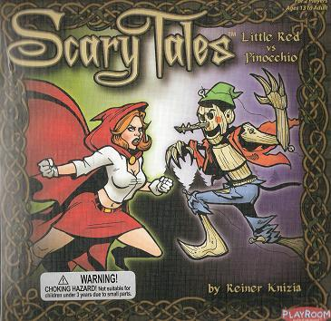 Scary Tales: Little Red Riding Hood vs. Pinocchio