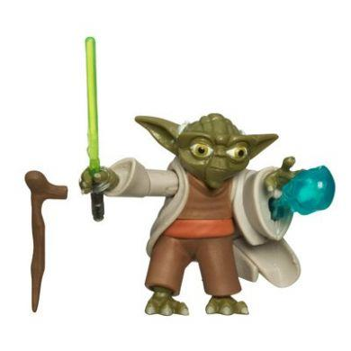 Star Wars The Clone Wars: Yoda Action Figure 1st Day Of Issue
