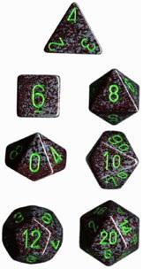 Dice Set Speckled Earth (7)