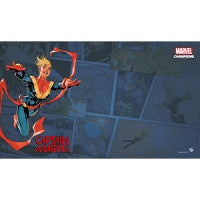 Marvel Champions LCG Captain Marvel Game Mat