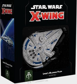 Star Wars X-Wing Lando's Millennium Falcon Expansion Pack 2nd Edition