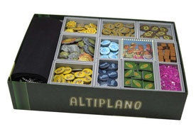Folded Space Game Inserts  Altiplano and Traveler Expansion