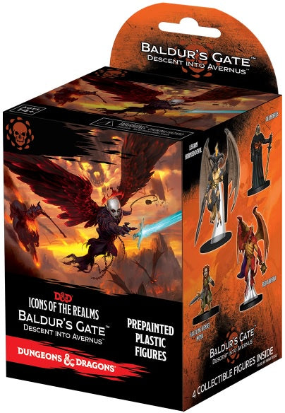 D&D Icons of the Realms Baldurs Gate Descent into Avernus Booster