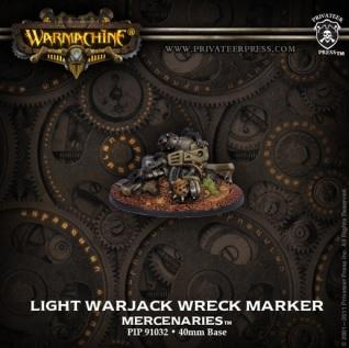 Warmachine Mercenaries Light Warjack Wreck Marker PIP91032