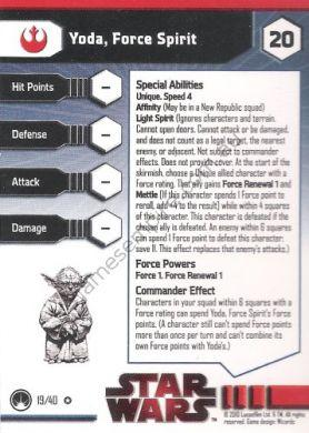 Masters of the Force 19 Yoda, Force Spirit