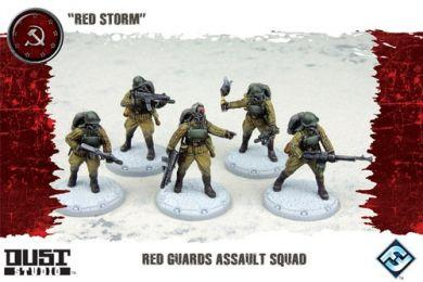 Dust Tactics: Red Guards Assault Squad - Red Storm ON SALE