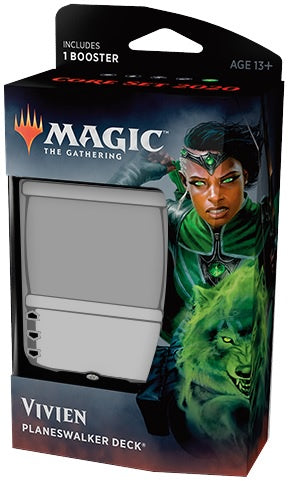 Magic the Gathering: Core Set 2020 Planeswalker Deck - Vivien
