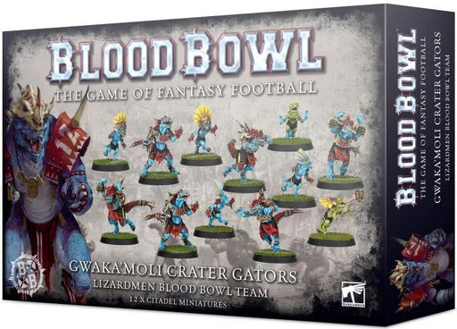 Blood Bowl Gwaka'moli Crater Gators - Lizardmen Blood Bowl Team