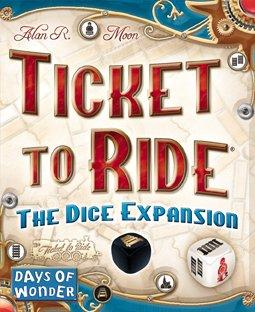 Ticket to Ride The Dice Expansion