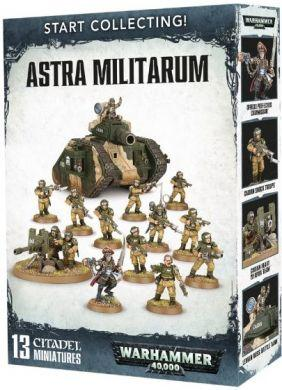 Warhammer 40K Imperial Guard: Start Collecting! Astra Militarum 70-47