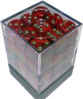 Dice Speckled 12mm D6 Strawberry (36)