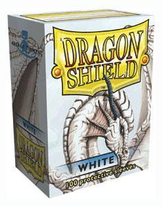 Dragon Shield White Sleeves