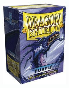 Dragon Shield Purple Sleeves