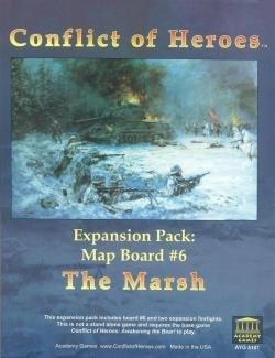 Conflict of Heroes Marsh Expansion 1