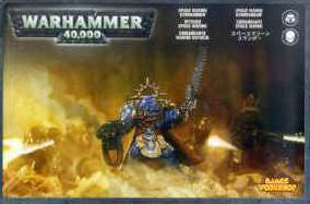 Warhammer 40K Space Marines: Space Marine Commander (1 model) 48-05