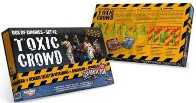 Zombicide: Box of Zombies Set #2 Toxic Crowd